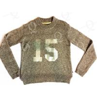 Cheap FLAT KNIT Ladies' knitted pullover sweater for sale