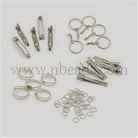 Cheap 1Set Assorted Iron Findings including 5pcs Iron Flat Alligat...(IFIN-X0004) for sale