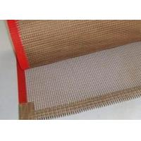 China PTFE coated fiberglass mesh conveyor belt ,drying belt, on sale