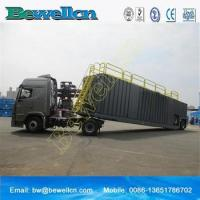 Cheap 77m3frac tank with wheel for use in the oil industry for sale