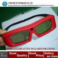 Cheap Unique Design Shutter 3D Active eyewear for Active 3D Digital Cinema for sale