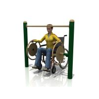 Cheap WD-5005AH Handicap Big Turning Wheels Outdoor fitness equipment for sale