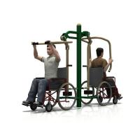 Cheap WD-5001BH Handicap Pull Down Challenger & Power Push Outdoor fitness equipment for sale