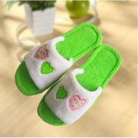 Buy cheap Hot sale decoration tpr sole antislip woman fluffy slipper from wholesalers