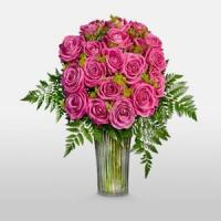 China Long Stem Roses NO.24 delivery flower to taiwan on sale