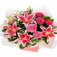 Cheap Pink delight NO.3 delivery flower to taiwan for sale