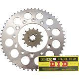 Cheap JT Steel Chain And Sprocket Kit for sale