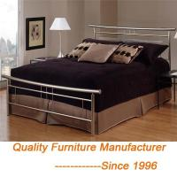 China Wholesale Modern & Contemporary Victorian Iron Metal Platform Bed, Queen, Dark Bronze on sale