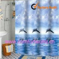 Cheap PVC Shower Curtain Waterproof Shower Curtain for sale
