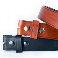 Cheap Snap On Leather Belt for sale