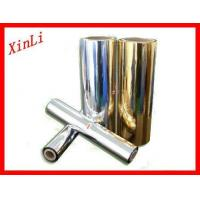 Cheap XINLI PET metalized thermal lamination film for sale