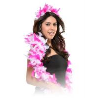 Cheap Feather Boa and Tiara Set for sale