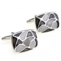 Cheap Black Mother of Pearl Cufflinks for sale