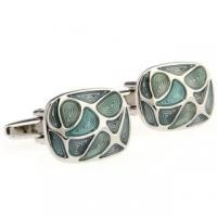 Cheap Blue Mother of Pearl Cufflinks for sale