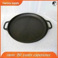 High Quality Wholesale Grill pan , japanese cast iron cookware with two handle