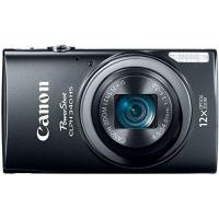 China Canon PowerShot ELPH 340 HS 16MP Digital Camera (Black) on sale