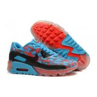 China 2015 High-End Nike Air Max 90 Women Hyperfuse Colorful Blue Black Red on sale