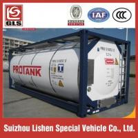 China Insulated 20ft 40ft Iso Tank Containers for Fuel Lpg Transport on sale