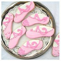 Ballet Favors - Ballet Slipper Cookies