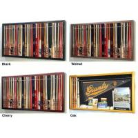 """Cheap Mini 18"""" Baseball Bat Display Case Cabinet w/ UV Protection4 WOOD COLORS! for sale"""