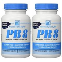 Cheap Nutrition Now  PB 8 Pro-Biotic Acidophilus  120 Capsules (pack of 2) for sale