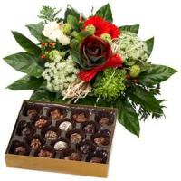 Cheap Holiday Greetings Bouquet And Chocolate.NO.49 Beijing gift for sale