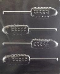 Quality French Tickler Lollipop Adult Chocolate Candy Mold wholesale