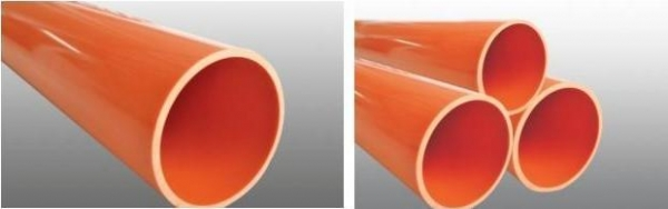 China Compound enhanced HFCM solid wall tube