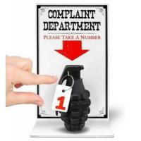 China Complaint Department Stress Relief Grenade on sale