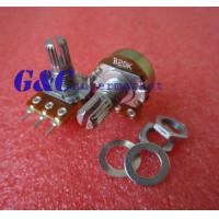 Cheap 10pcs 50K Ohm B50K Knurled Shaft Linear Rotary Taper Potentiometer for sale