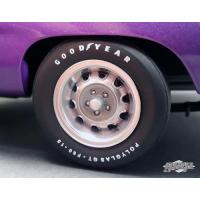 Cheap 1970 Plymouth Road Runner Rally Wheels and Tires Set of 4 Pack 1/18 by GMP wholesale