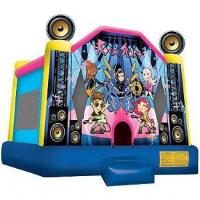 Cheap Rock Star Bounce House Ships within 24-72 hours via Freight Truck for sale