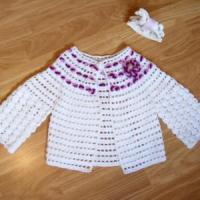 Cheap crochet baby clothes crochet baby jacket new baby clothes for sale
