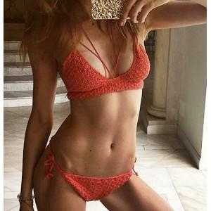 Quality Crochet bikini top crochet bathing top festival clothing swimwear handmade crochet bra wholesale