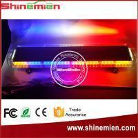 China COB Amber White 47 inch emergency Strobe Light bar Lightbar Warrning on sale