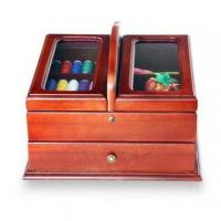 Handmade Sewing Box with Sewing Accessories Included