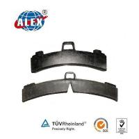 China Low high friction brake pad for train on sale