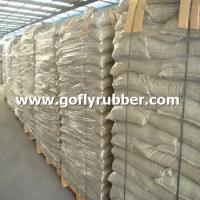 China Packing of Black SBR Rubber Granules on sale