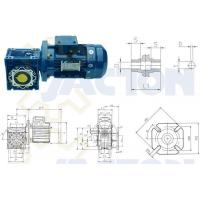 China Right Angle RV Worm Gear Reducers on sale