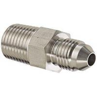 Buy cheap Stainless Steel 304 SAE Flare Fitting 3/8 Inch 37 Degree JIC Flare X 1/4 Inch MNPT from wholesalers