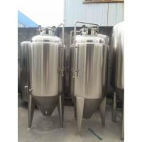 Buy cheap Europe Standard Stainless Steel Conical Fermentation Tank from wholesalers