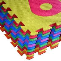Cheap Colorful EVA Foam Play Mats For Kids for sale