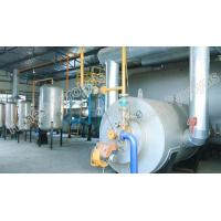 Buy cheap 8T Semi continuous waste tyre(plastic) pyrolysis plant from wholesalers