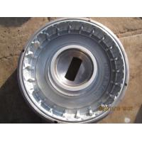 Buy cheap Galvanized Rim Competitive Price PU Solid Tyre from wholesalers