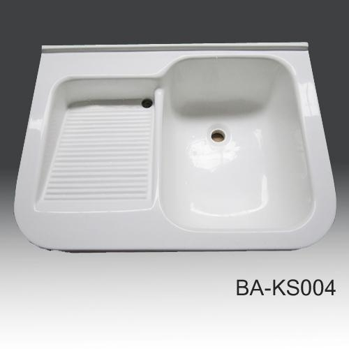 Solid Surface Kitchen Sinks Ba Ks004 With Certificate Of
