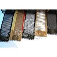 China Heat resistance PTFE Coated Fiberglass mesh Fabric on sale