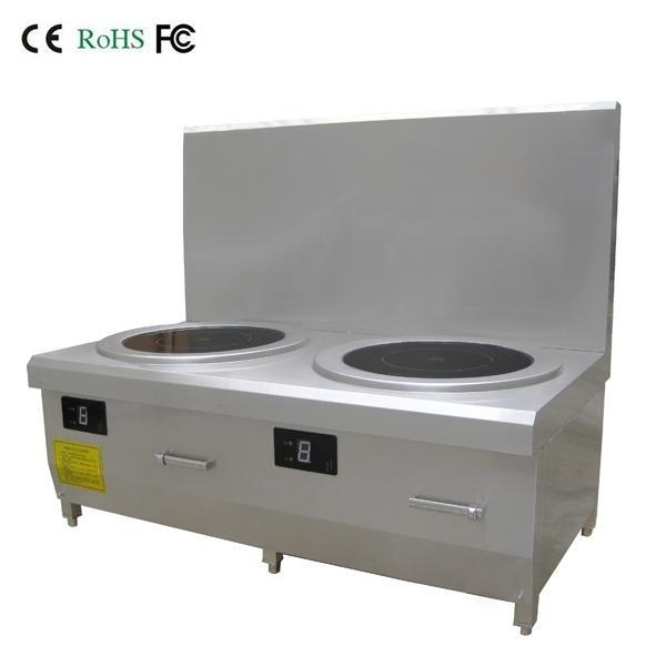 Double Induction Cooker ~ Commercial induction stove double burners soup boiler for