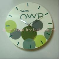 Cheap Unique Advertising Plastic Wall Clock for sale