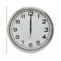 China 12 Radio controlled quartz wall clock,IRON on sale