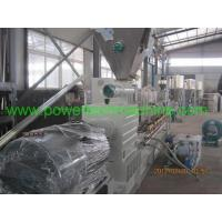 Buy cheap The PVC/WPC parallel twin screw extruder pelletizing production line from wholesalers